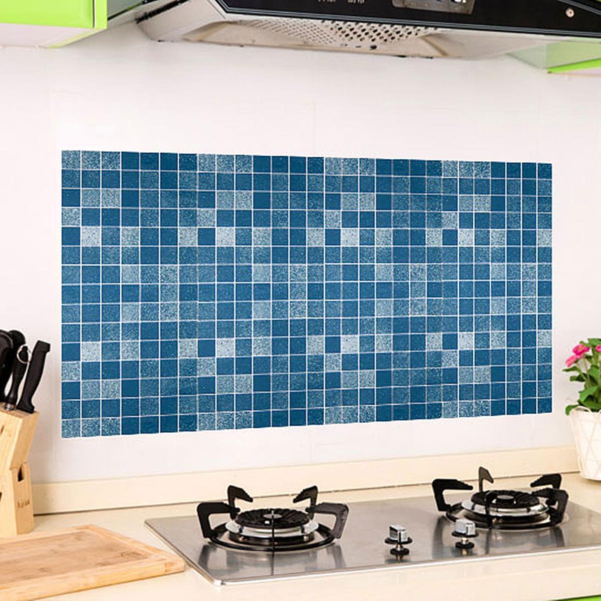 M osaic Wallpaper Aluminum Foil Wallpaper Adhesive Wall Sticker ...