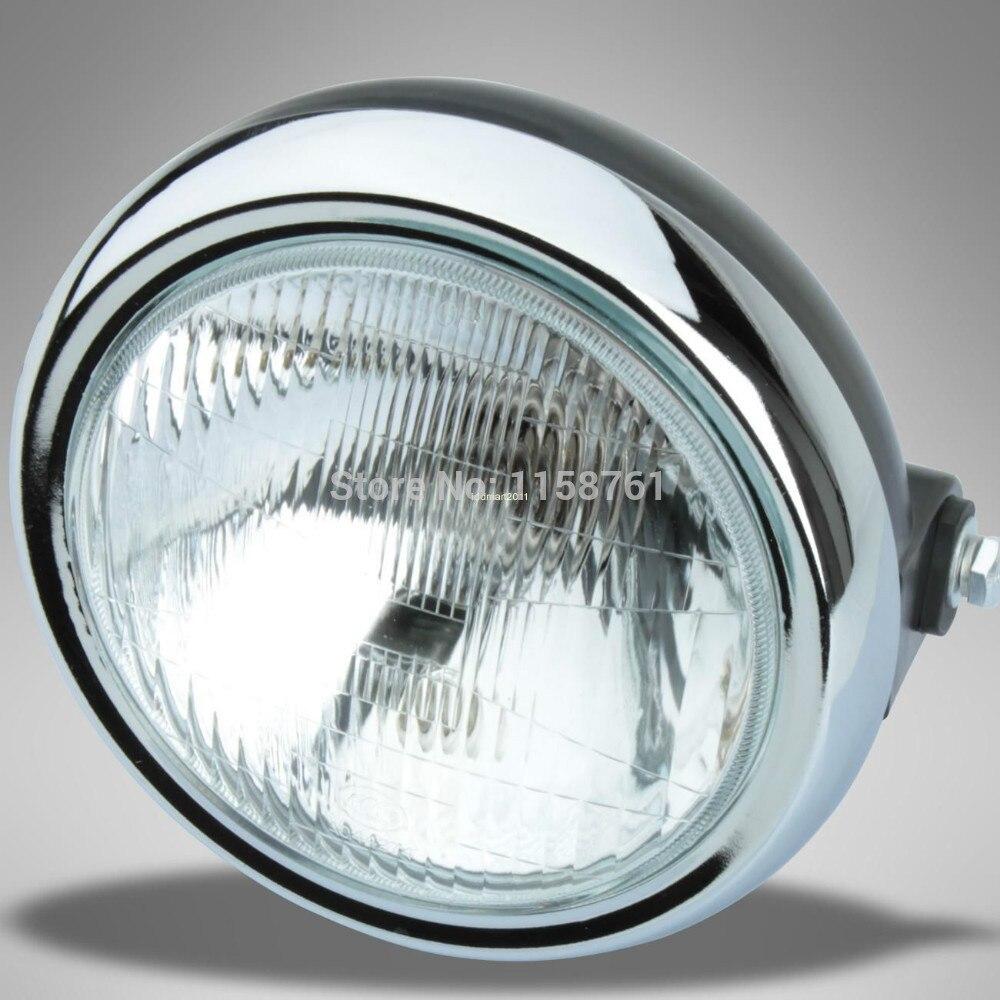 FREE SHIPPING Round Headlight For Yamaha 2002-2013 YBR125 YBR 125 7