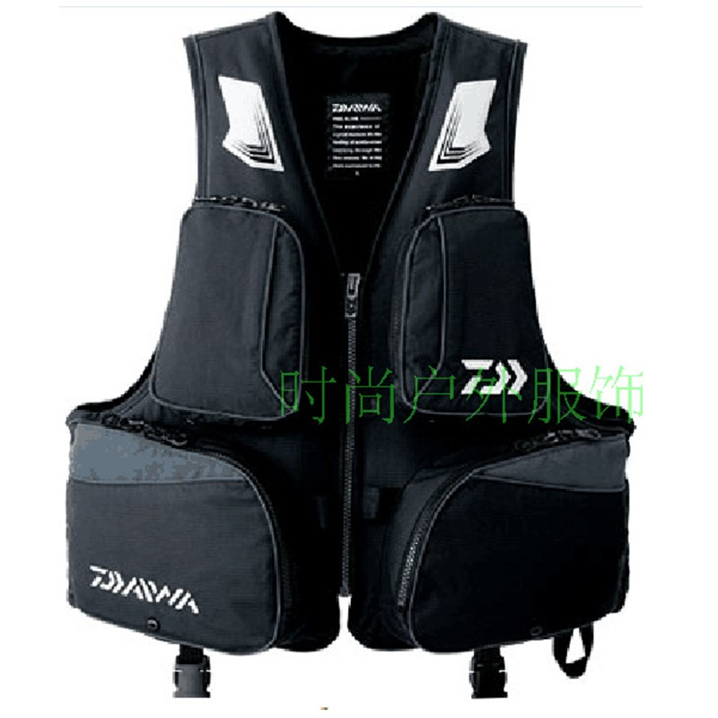 2017 DAIWA NEW Fishing life jacket DAIWAS buoyancy 120 kg Leisure Multi-function Man sports outdoors Vest DAWA Free shipping