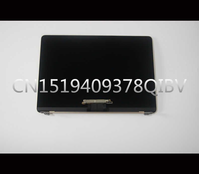 Tested Complete LVD LCD Screen Display Assembly for Macbook Retina 12 A1534 2015 2016 MF855 MF856 Gold Rose Gold Silver Grey