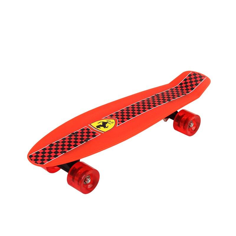Complète bébé garçons planche à roulettes cruiser enfant débutant enfants quatre roues penny skate board Pour fille et garçon - 2