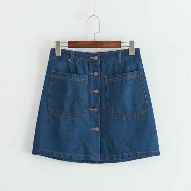 Новая мода на юбки в японии