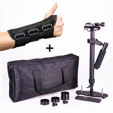 S60 cámara estabilizador de mano Steadicam DSLR steadycam estabilizador steady video cam cámaras con ortesis de mano para Canon Nikon