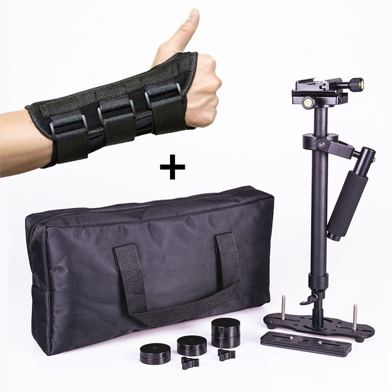 Steadicam s60 handheld camera stabilizer video steady cam DSLR steadycam estabilizador cameras with hand brace for Canon Nikon