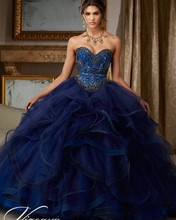 puffy princess popular debutante gown navy blue quinceanera dresses  cheap quinceanera gowns sweet 16 dresses for 15 years