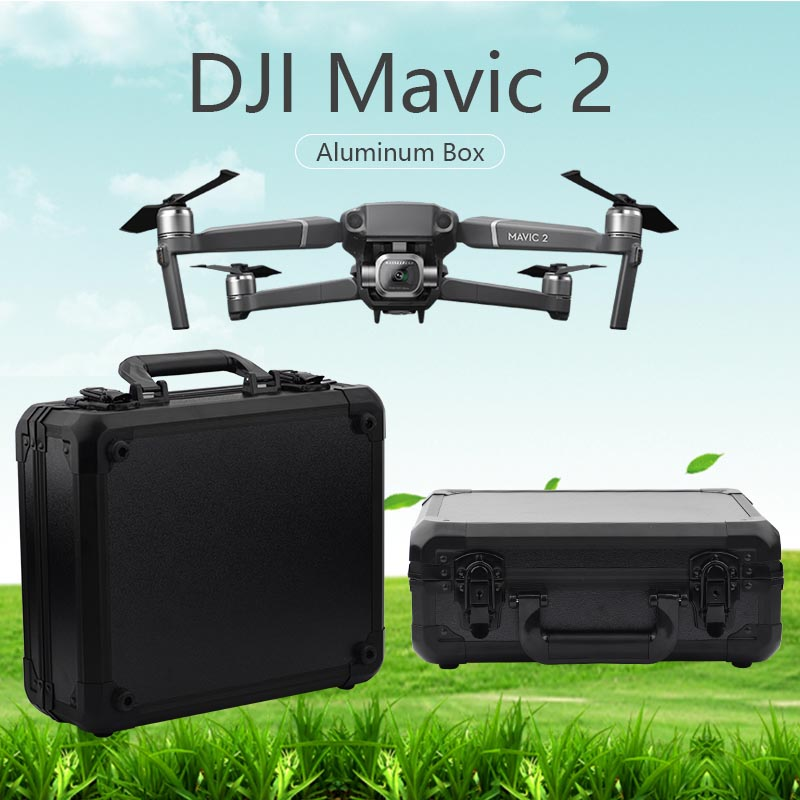 DJI Mavic 2 Pro/Zoom case Aluminum box portable Storage Bag waterproof Suitcase EVA Drone Quadcopter Accessories DJI Spare parts