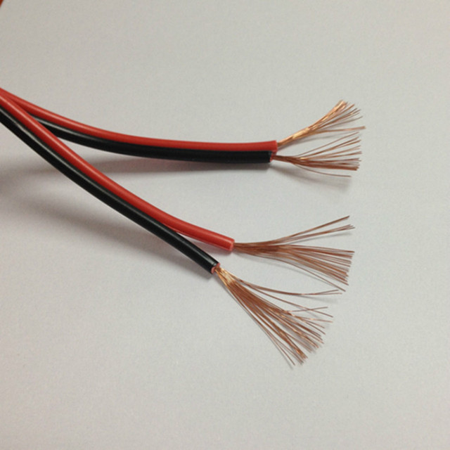 Red and black power supply wire Electric , LED cable, copper Wire ...