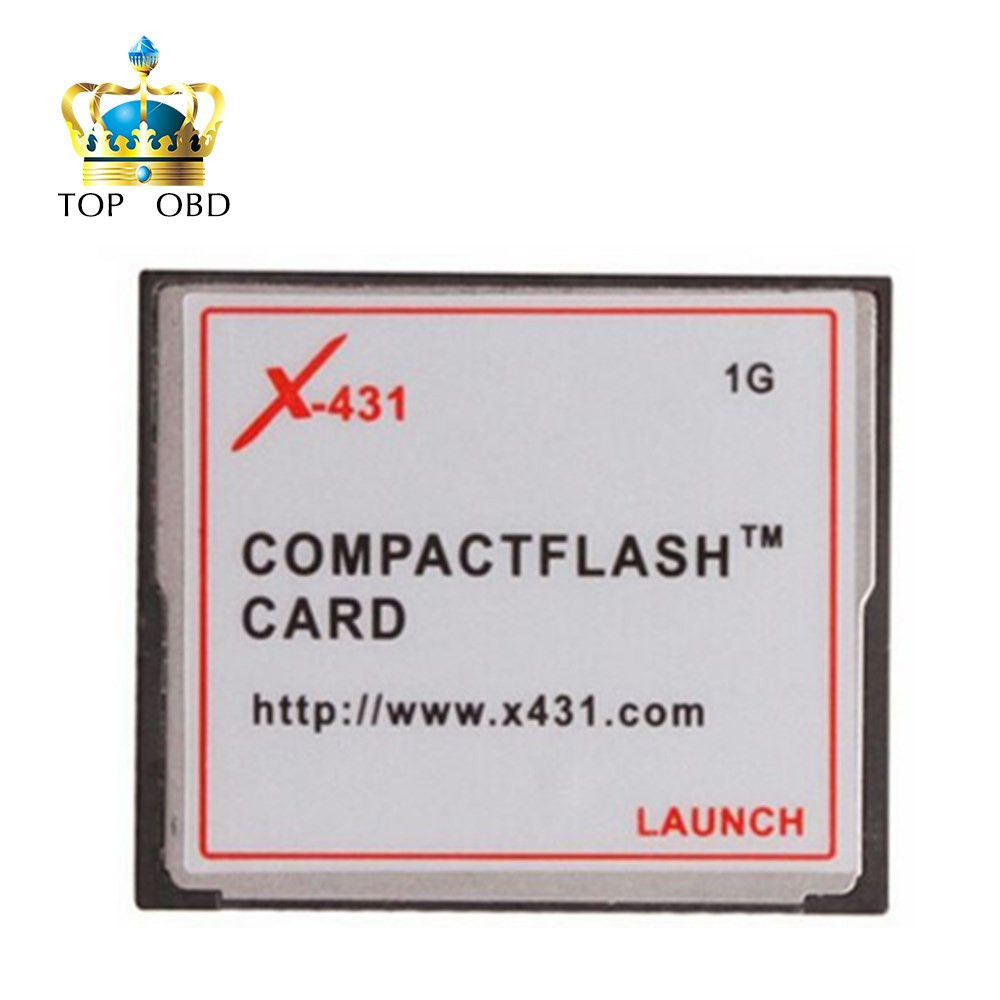100% Original LAUNCH X431 CF Memory Card For X431 GX3 ,X431 Master ,X431 IV launch cf card compact flash card 1GB F