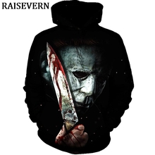 MICHAEL MYERS Hoodie Men Women Long Sleeve Pullover Blood Ho