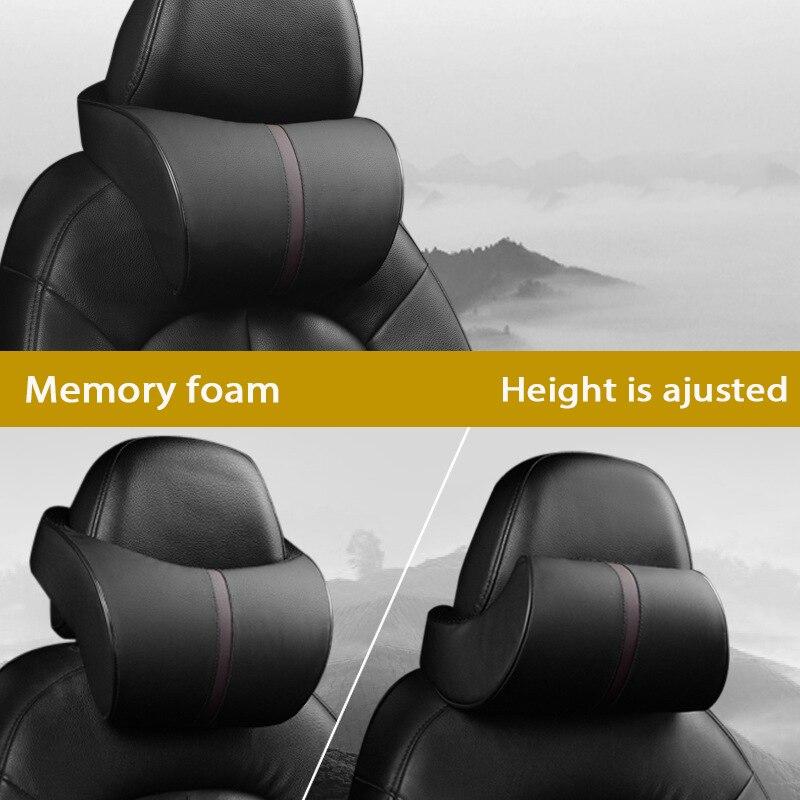 Atreus oblikovanje avtomobila 1 kos vzglavnik za avtomobilski usnje - Dodatki za notranjost avtomobila - Fotografija 5