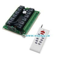 DC12V 12 CH RF Remote Control Switch Light Switch Dimmer With Remote Control For Light On