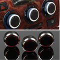 Car AC Knob Aluminum alloy air conditioning knob products accessory,suitable For Geely Vision SC7