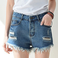 2017 Summer Women Hole Short Jeans Denim Shorts Casual Women Jeans Shorts 9102