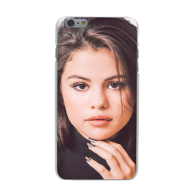 Selena Gomez Hard Case Transparent for iPhone 7 7 Plus 6 6s Plus 5 5S SE 5C 4 4S