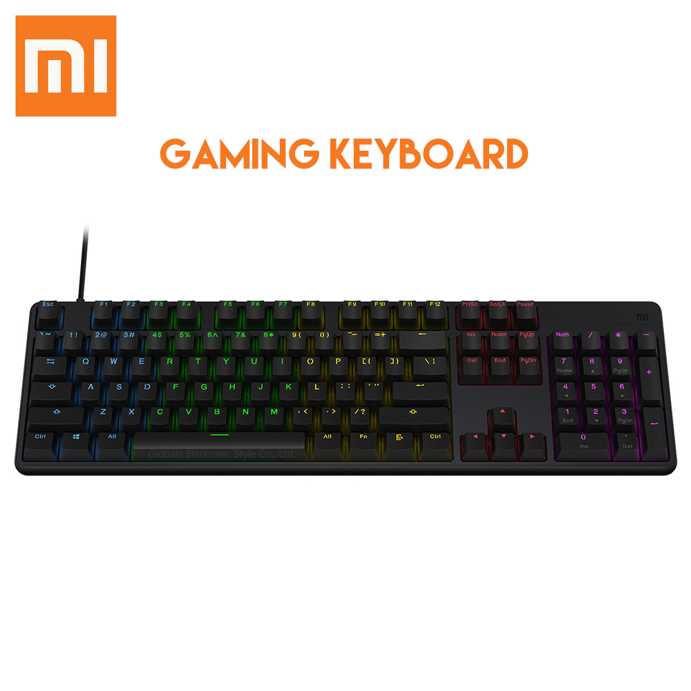 Original Xiaomi USB Wired Gaming Keyboard With RGB Backlight