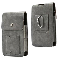 Holster Belt Clip Mobile Phone Leather Case Dual Pouch For BlackBerry Aurora,UMi Z/Rome X/Max/Super/Plus E,Bluboo Maya/Dual/edge