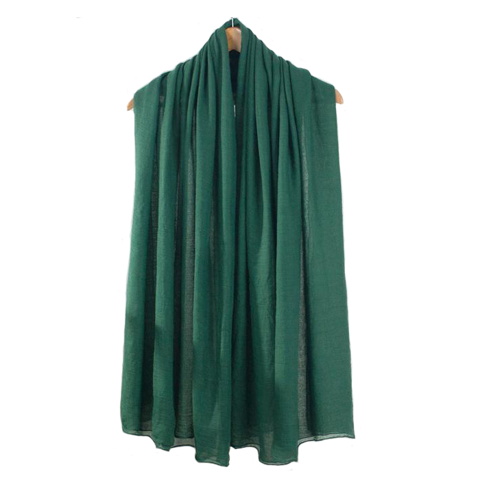 12 Candy Colors Green Women Cotton Acrylic Scarves Solid Color All-Match Shawls Ultra Long Soft Cape Bufandas 180*90cm NP040
