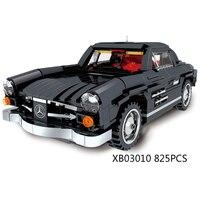 Классический мечта-автомобили Творческий супер роскошные автомобили Benz Винтаж автомобиля Moc Building Block Модель Кирпичи игрушки для мальчиков ...