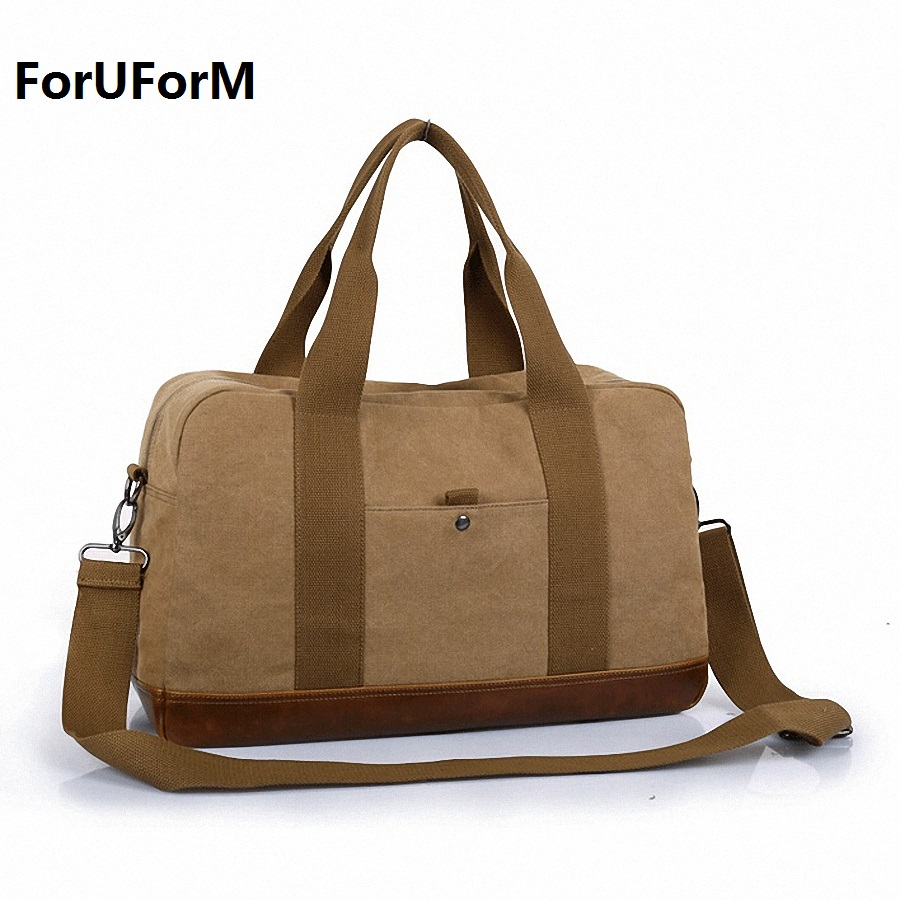 New High Quality Men's Travel Bags Solid Zipper Men Canvas Bag Travel Duffle Bag Bolsa Large Capacity Luggage Tote LI-1541 vintage backpack large capacity men male luggage bag school travel duffle bags large high quality escolares new fashion