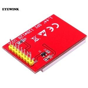 Image 4 - 10 pièces/lot 1.44 pouces série 128*128 SPI couleur TFT LCD Module au lieu de Nokia 5110 LCD livraison gratuite