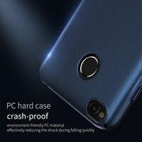 Fashion Hard PC Case For Xiaomi Redmi 4X Slim Smooth Back Cover For Xiaomi Redmi 4X
