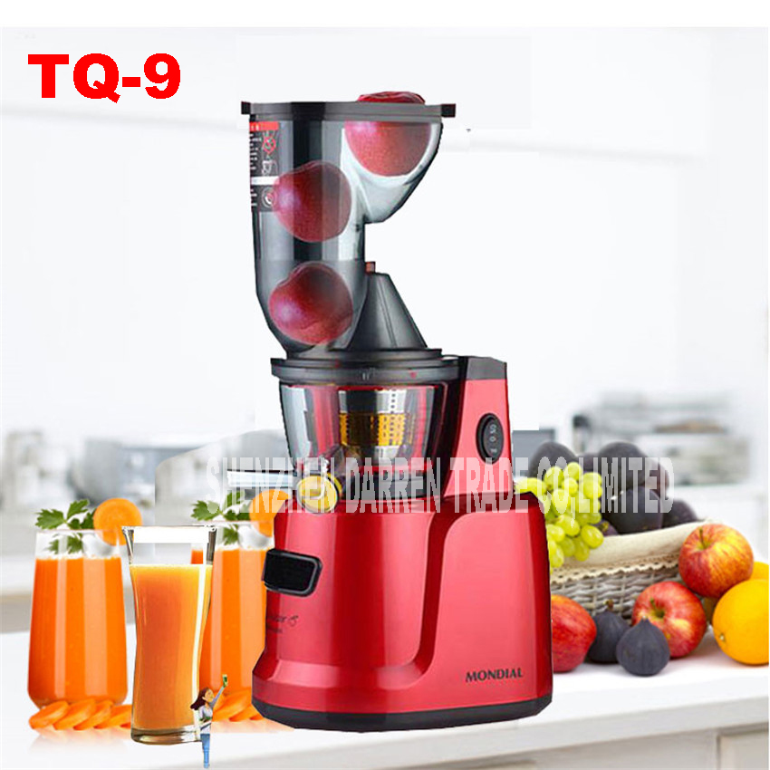 Sweeten home all apply a slow juicer 300 w low-speed juice extractor vegetable fruit juicer fruit machines TQ-9 large  Juicer 900w fruit mixer machine vegetable superfood blender processor juicer extractor free shipping
