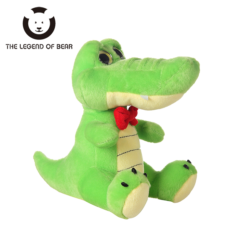2017 New Style Stuffed Plush Animals Toys Tiny Crocodile Dolls Spiners Toy For Children Kawaii Soft  THE LEGEND OF BEAR Brand 30cm mickey mouse and minnie mouse toys soft toy stuffed animals plush toy dolls