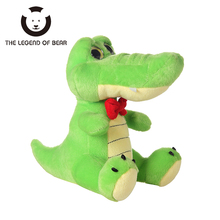 2017 New Style Stuffed Plush Animals Toys Tiny Crocodile Dolls Spiners Toy For Children Kawaii Soft  THE LEGEND OF BEAR Brand