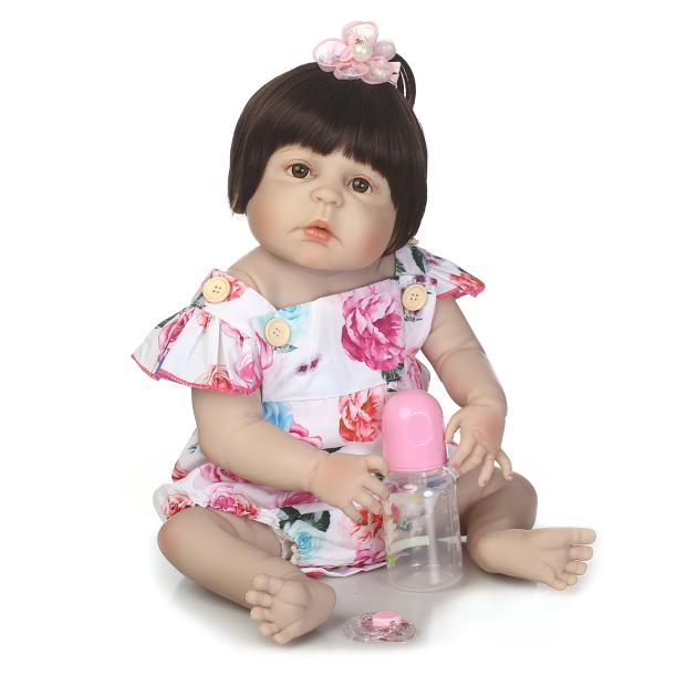 57cm Full Silicone Vinyl Reborn Dolls Baby Girl Reborn Dolls Reborn Dolls for Kids Birthday Gifts Bebe Reborn Alive Doll57cm Full Silicone Vinyl Reborn Dolls Baby Girl Reborn Dolls Reborn Dolls for Kids Birthday Gifts Bebe Reborn Alive Doll