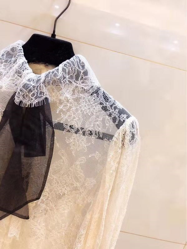 Wld11281 Style Nouveau Piste Europe Blouses Mode Hiver Vêtements Luxe Et Designer Marque Chemises 2018 De Femmes 6TxBnq6H