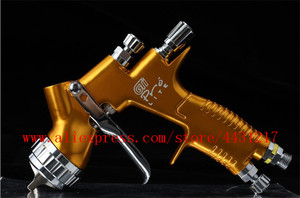 Image 4 - lvmp professional gti pro lite spray gun TE20 T110 1.3/1.8mm water based paint car automotive paint spray gun