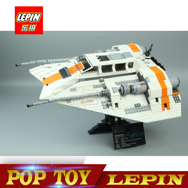 New Lepin 05084 1457Pcs Star Set Wars UCS Rebel Snowspeeder Model Building Kits Blocks Bricks For Compatible legoed 10129 Toy new lepin 16009 1151pcs queen anne s revenge pirates of the caribbean building blocks set compatible legoed with 4195 children