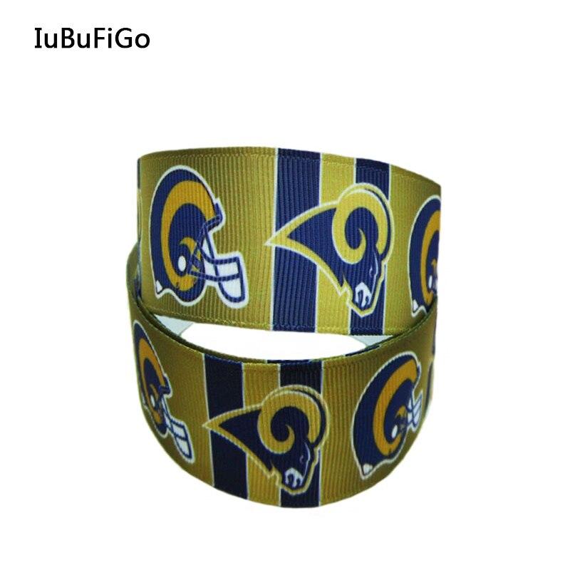 [IuBuFiGo] 10Y 7/8 Characters Printed Grosgrain Ribbon 22MM Sport ribbons Sign team ribbon X2320 Free shipping
