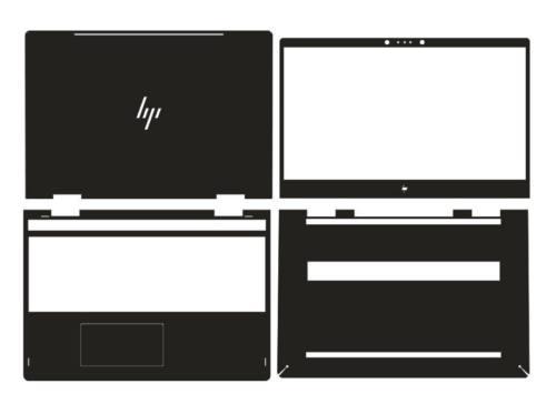 HP ENVY X360 15m-bp011dx 15m-bp012dx Silver Rear Lid 924344-001 4600BX0G000