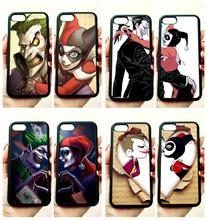 BFF Mr. joker and harley couple love soft edge phone cases for apple iPhone x 5s SE 6 6s plus 7 7plus 8 8plus XR XS MAX case