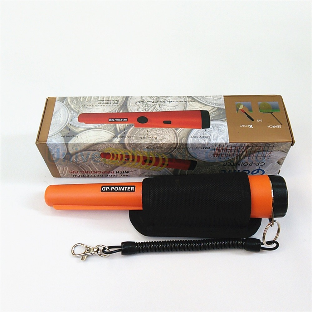 GP-Pointer Waterproof Head Portable Handheld <font><b>Metal</b></font> Detector, Pro <font><b>Metal</b></font> Hunter Pinpointer Pointer