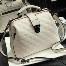 2019 New Retro Doctor Bag Fashion Large Capacity Messenger Bag Ladies Shoulder Bag Scrub Leather Leather Handbag недорого