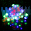 Flower LED String 50pcs Roses nightlight High quality 7.5meter Party Wedding Room Christmas Fairy Holiday Decor Love you SW