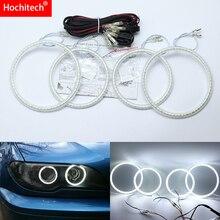 Anillo Convertible para BMW Serie 3 E46, Coupe Cabrio 201 06, Ultra brillante, SMD, LED blanco, Ojos de Ángel, Halo, juego de anillo, luz diurna