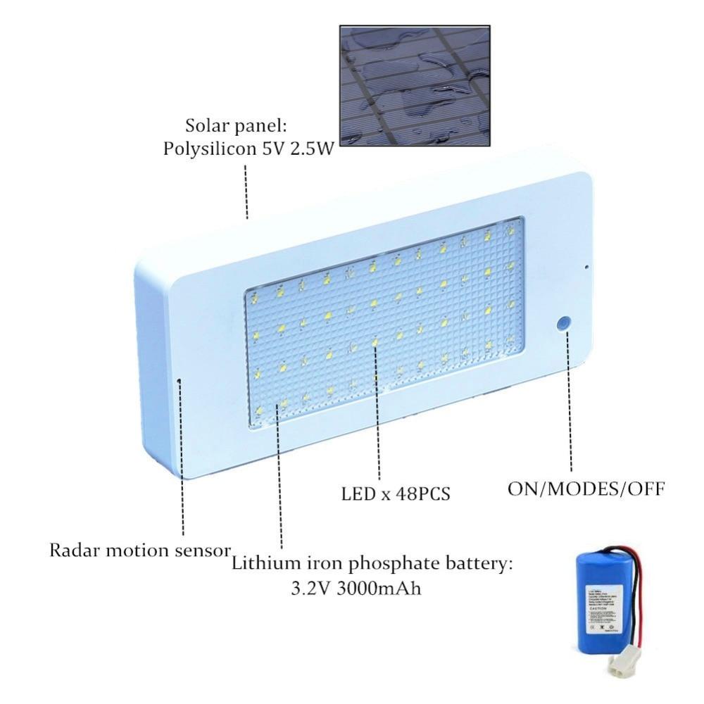 luz solar ao ar livre sensor de 02