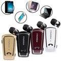 Inalámbrica Bluetooth 4.0 Estéreo Fineblue F-V3 Retráctil con Clip de Auriculares Auriculares