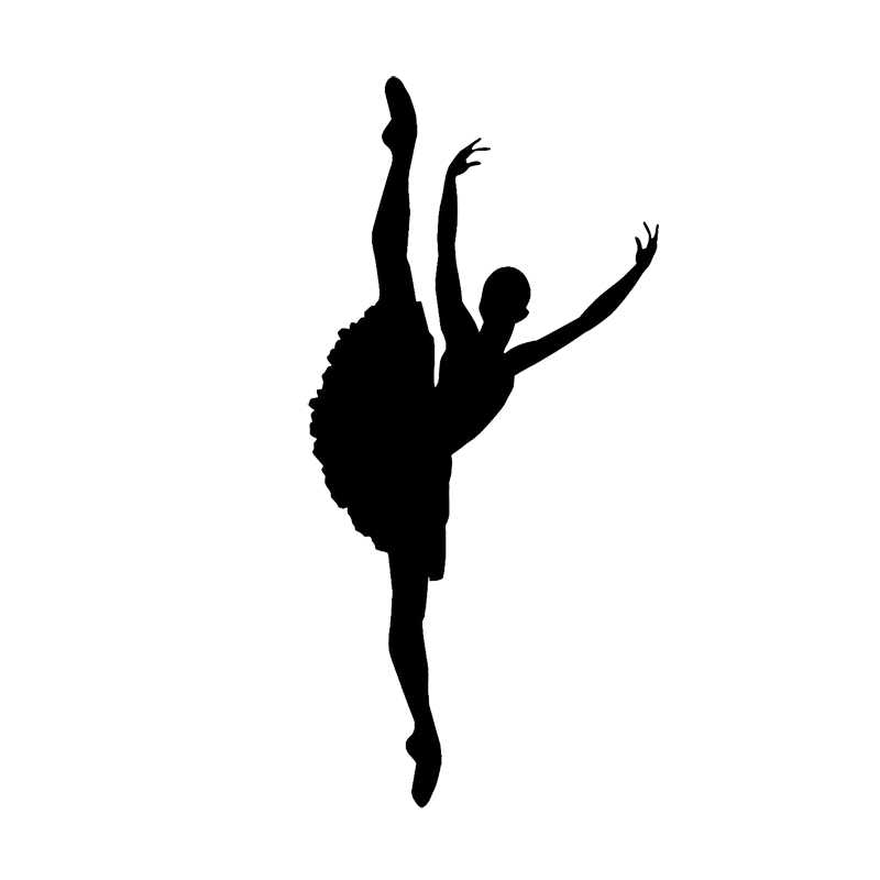 8 5 17 7cm Ballet Dancer Personalized Car Stickers Cartoon Vinyl Car Decorative Accessories Black Silver C7 0678 Accessories Scarf Accessories Subaruaccessories Ducati Aliexpress