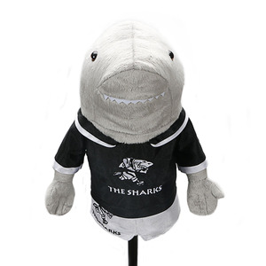 Image 5 - Golf headcover clubs driver Shark pets unisex  golf clubs protect covers