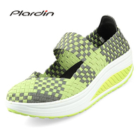 Plardin 2017 Summer Wedges Colorful Breathable Beach Sandals Jelly Shoes Woman Women S Sandals Shoes For