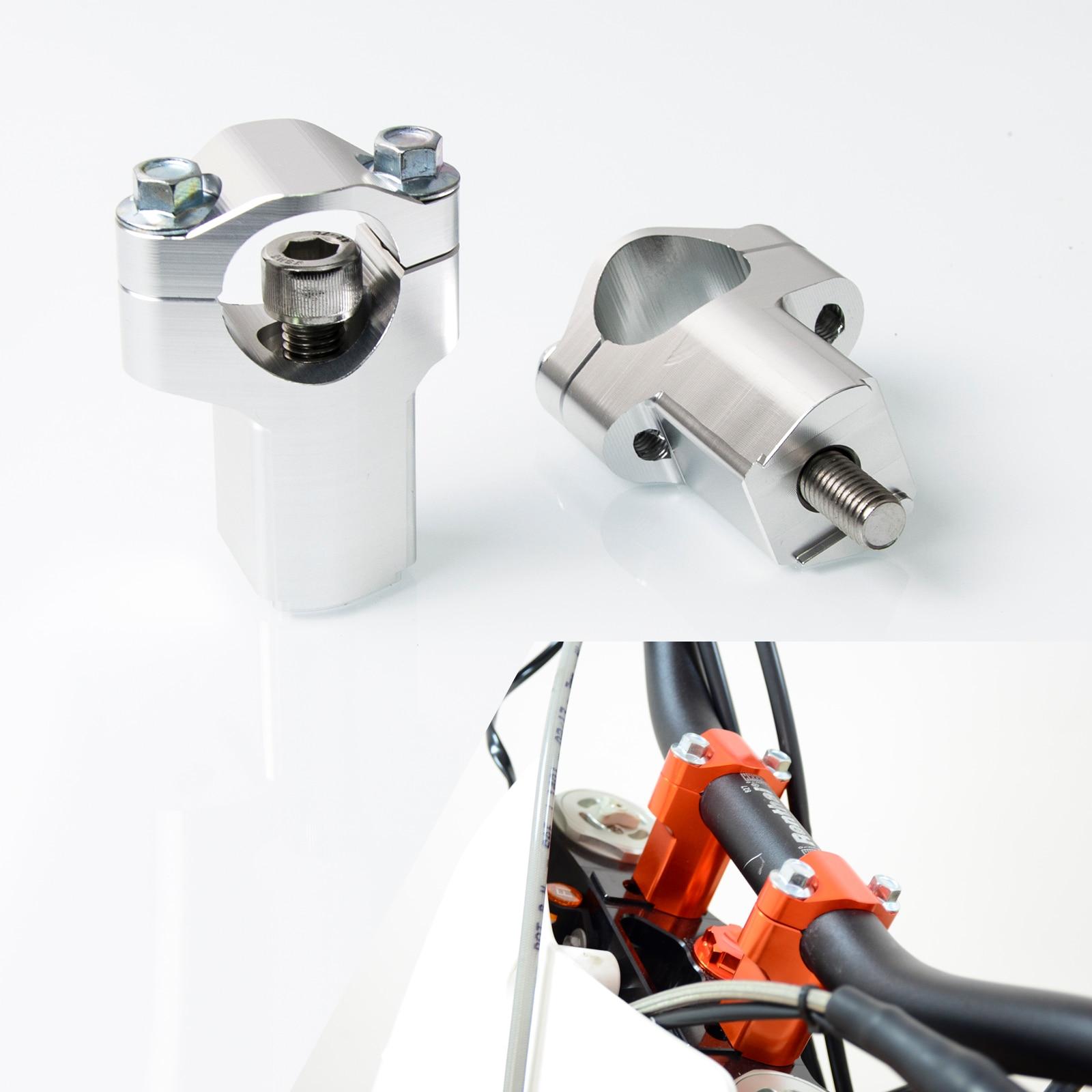 цена на NICECNC 28MM Handlebar Clamp Risers Bar Mount For KTM 125 150 200 250 300 350 400 450 500 505 525 530 SX SXF XC EXC 2006-2016