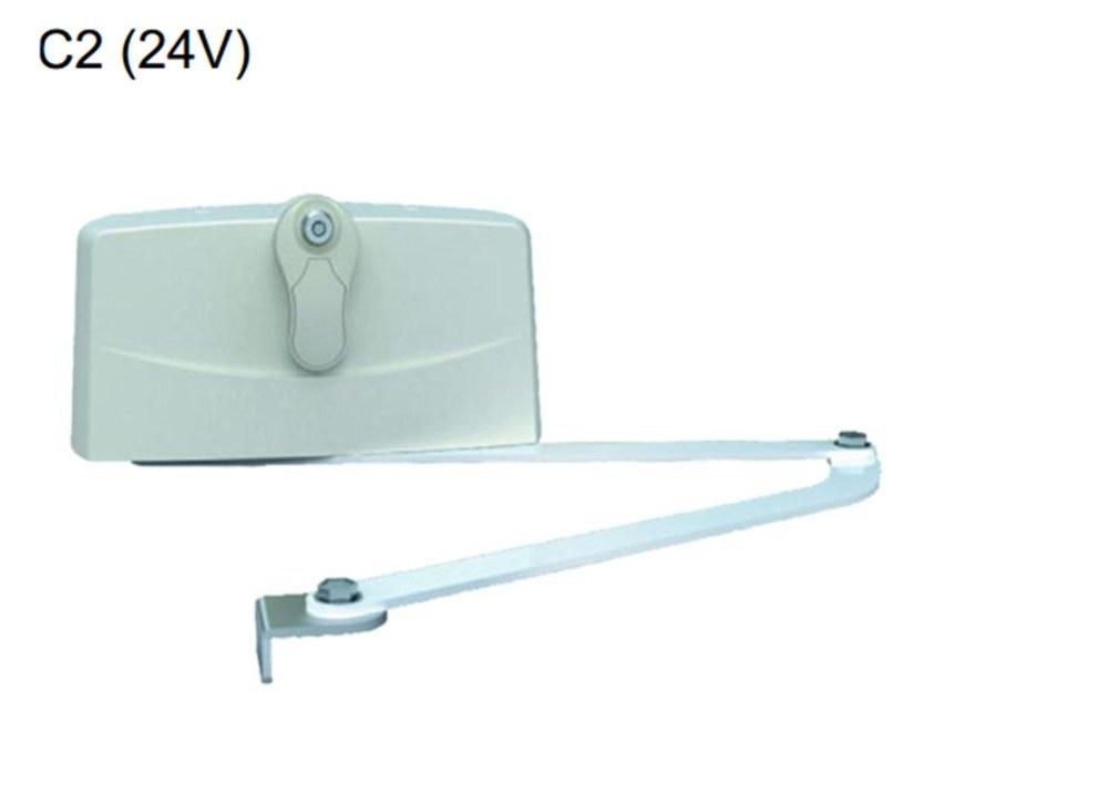 Swing ouvreur de porte courbe porte pour 500 kg DC24V télécommande système