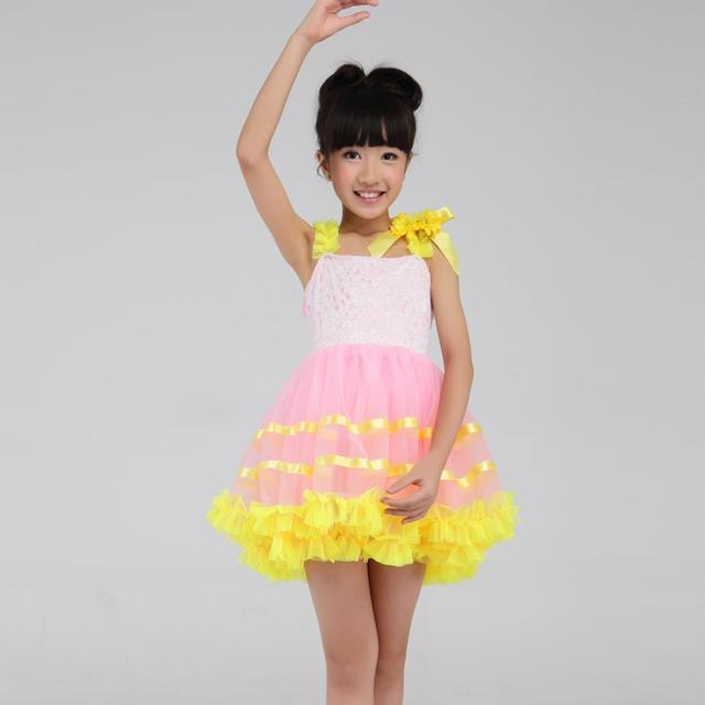 739ccf803dd7 2018 Promotion Children Under The Age Of Dance Clothes Dresses ...