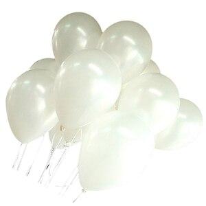 Image 3 - 100バルーンバースデーウェディングパーティーの装飾クラブ風船25センチメートル色: 白