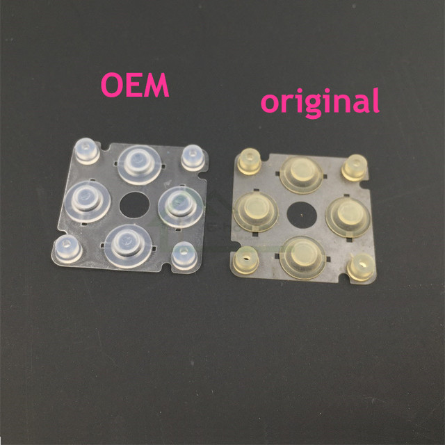 Original Key Button Conductive Rubber Pad replacement for PSP 2000 3000 Left Cross Directional Button for PSP2000 PSP3000