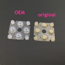 مفتاح زر الأصلي موصل وسادة مطاطية لاستبدال PSP 2000 3000 اليسار عبر الاتجاه زر ل PSP2000 PSP3000